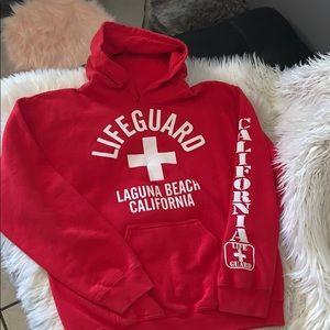 Lifeguard hoodie men's sz small